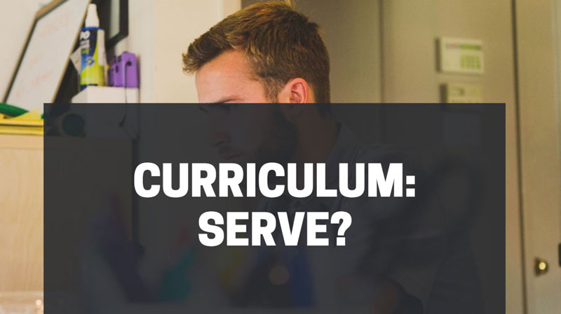curriculum serve ancora