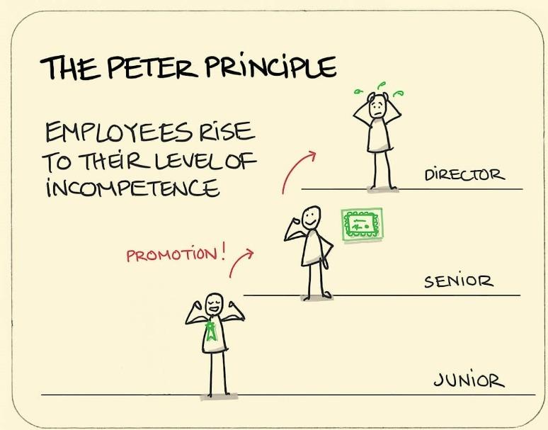 il principio di peter