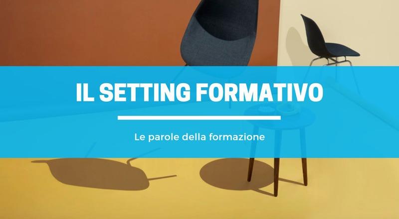 setting formativo