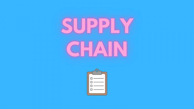 supply chain cos'è