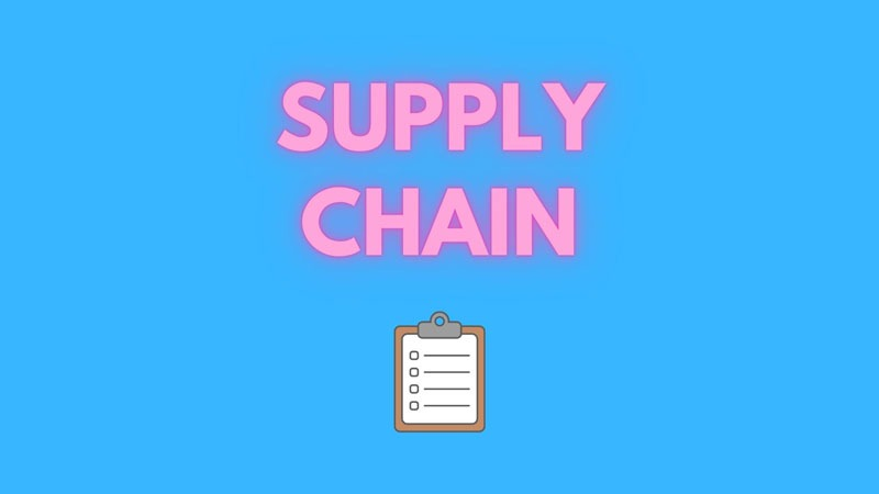supply chain cos'è